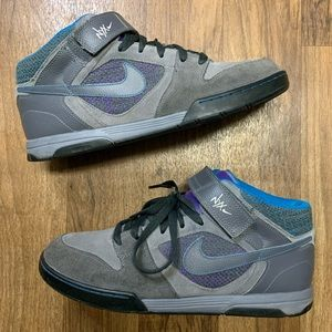 Nike NYX Grey Teal Sneakers Size 12